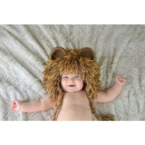 Lion Hat - Medium Brown
