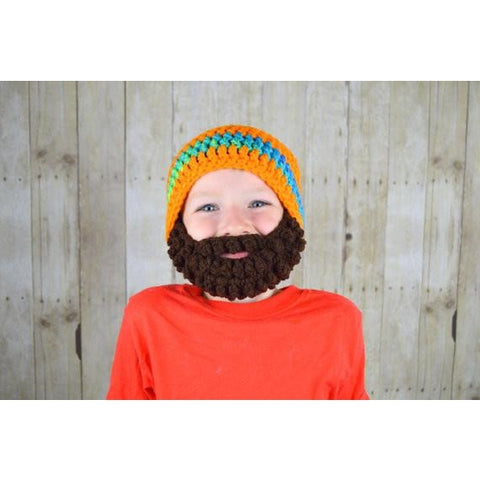 Beanie Beard - Orange
