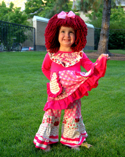 Raggedy Ann Costume and Wig