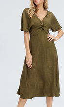 Load image into Gallery viewer, the FOREST linen dress
