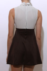 1960's MOD striped dress