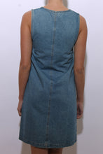 Load image into Gallery viewer, 1980's denim dress