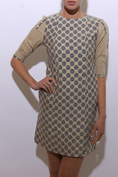 1960'S MOD polka dot dress