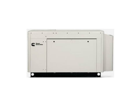 Cummins RS25 QuietConnect, 25kW @ 120/208V 3-Phase