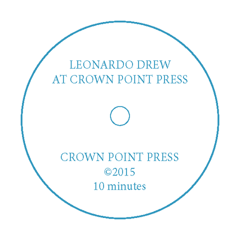 Leonardo Drew at Crown Point Press