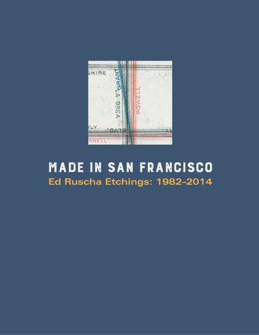 Made in San Francisco: Ed Ruscha Etchings
