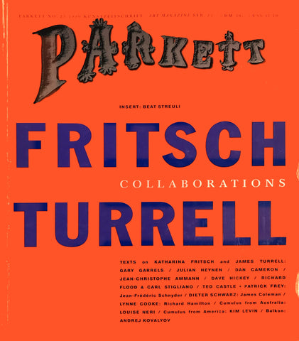 Parkett No. 23: Katharina Fritsch / James Turrell (1990)