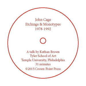 John Cage: Etchings & Monotypes 1978-1992