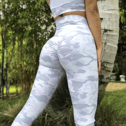 ABS2B - High Waist Leggings Marilyn (Camouflage)