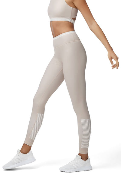 ALL FENIX - High Waist Camilla Leggings (Tan)
