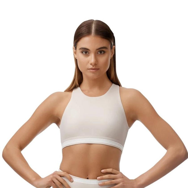 ALL FENIX - Camilla Sports Bra (Tan)