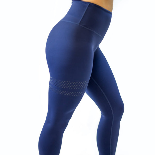 BARA - High Waist Shape Leggings (Blå)