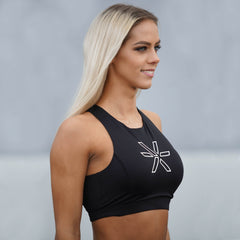 BARA - Blackberry Sports Bra (Sort)