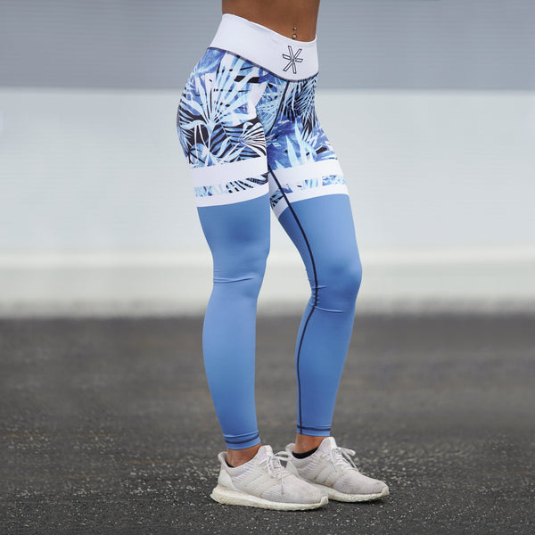 BARA - High Waist Tropic Dream Leggings