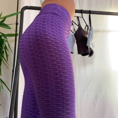 Fitfashion - Detailed Leggings (Lilla)