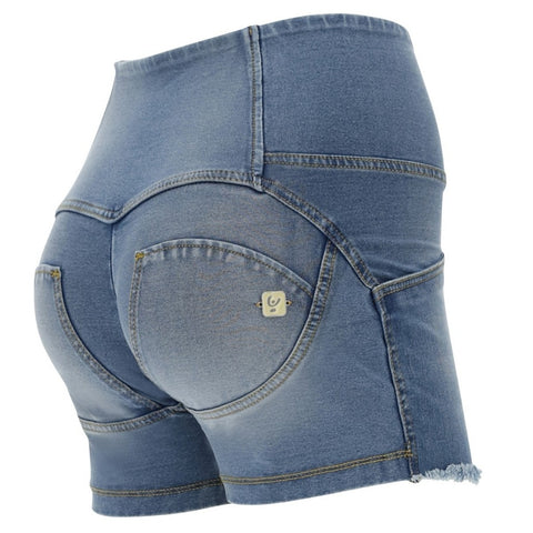 WR.UP® High Waist Denim Shorts Lys (J4Y)