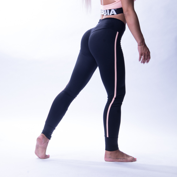 Nebbia - One Striped Leggings (Sort)