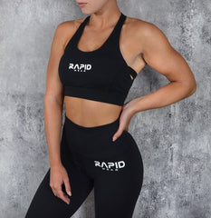 RapidWear - Runway Sports Bra (Sort)
