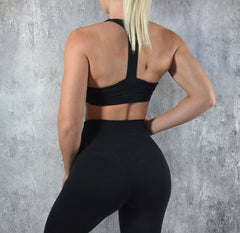 RapidWear - Flex Sports Bra (Sort)