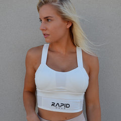 RapidWear - High Impact Sports Bra (Hvid)