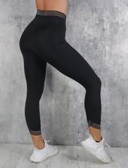 RapidWear - 7/8 Invisible Feel Leggings (Sort)