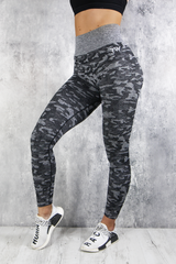 RapidWear - Camouflage Seamless Leggings (Charcoal)