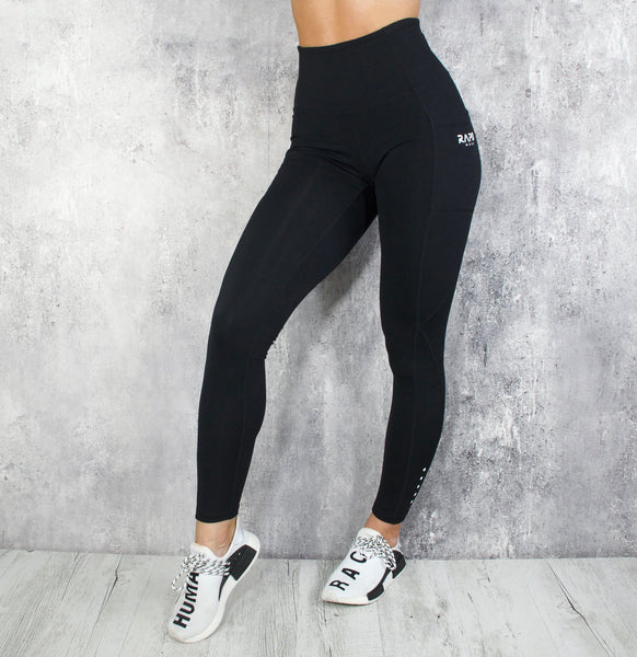 RapidWear - Energy Leggings (Sort)