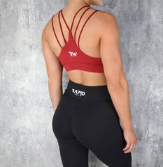 RapidWear - Knockout Sports Bra (Rød)
