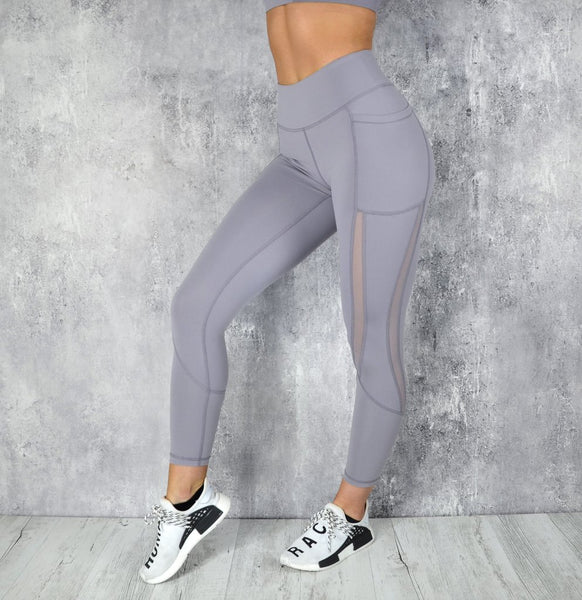 RapidWear - Power Mesh Leggings (Lavendel)