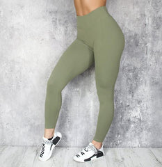 RapidWear - Scrunch+ Leggings ABS2B scrunch effekt (Khaki)