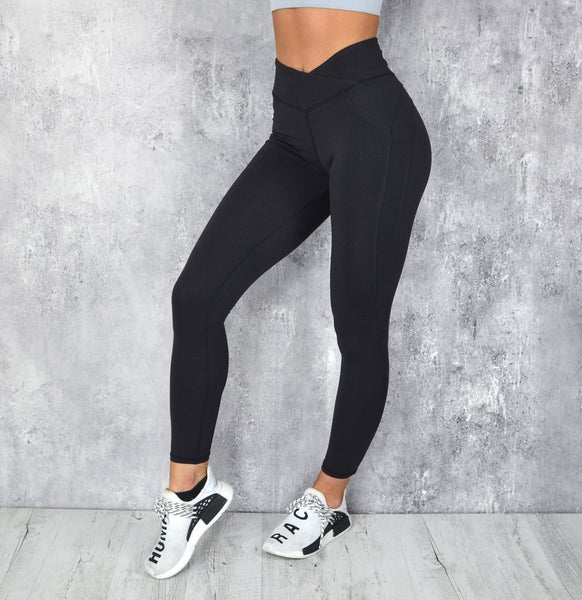 RapidWear - Scrunch Leggings (Sort)