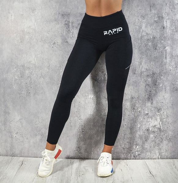 RapidWear - Ultimate Support Leggings (Sort)