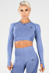 Ryderwear - Seamless Crop (Blå)