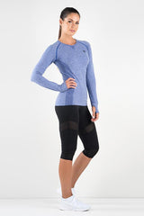 Ryderwear - Seamless Long sleeve (Blå)