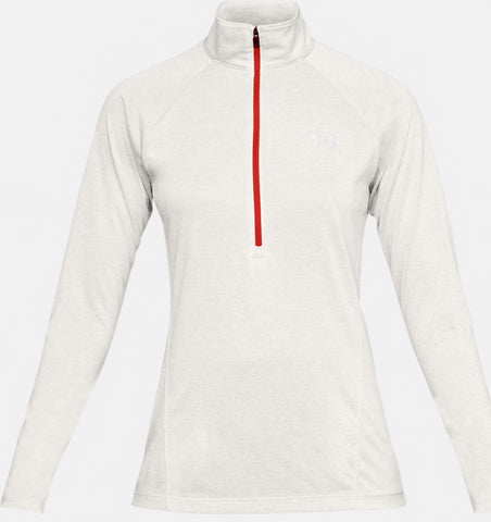 Under Armour - Twist Zip (Hvid/Rød)
