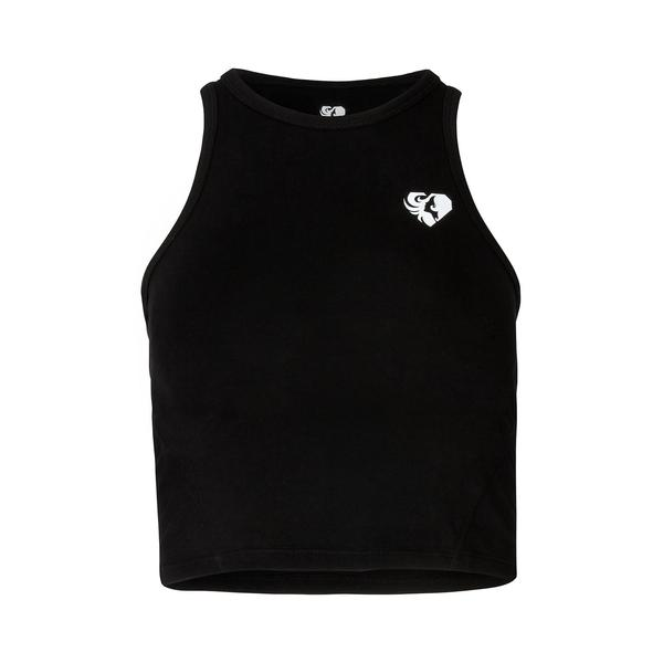 Women's Best - Crop Top (Sort)