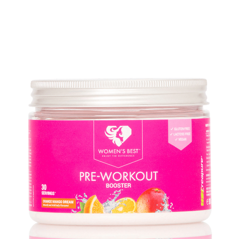 Women's Best - Pre Workout Booster (Orange/Mango)