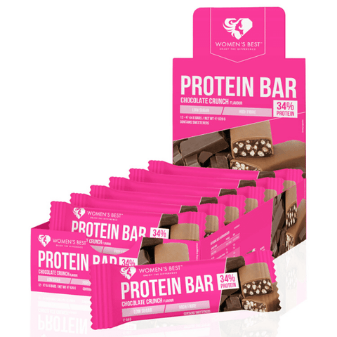 Women's Best - Protein Bar Chocolate Crunch (12 x 44g)