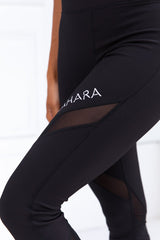 Xahara - Bootylicious Rib Leggings (Sort)