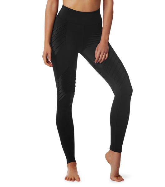 L'urv - New Beginnings Moto Leggings (Sort)