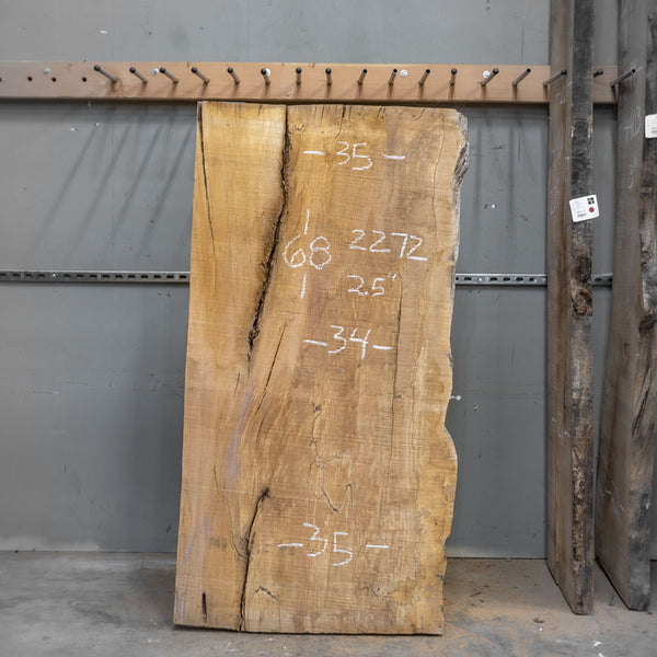 "68"" x 34"" Maple Slab"