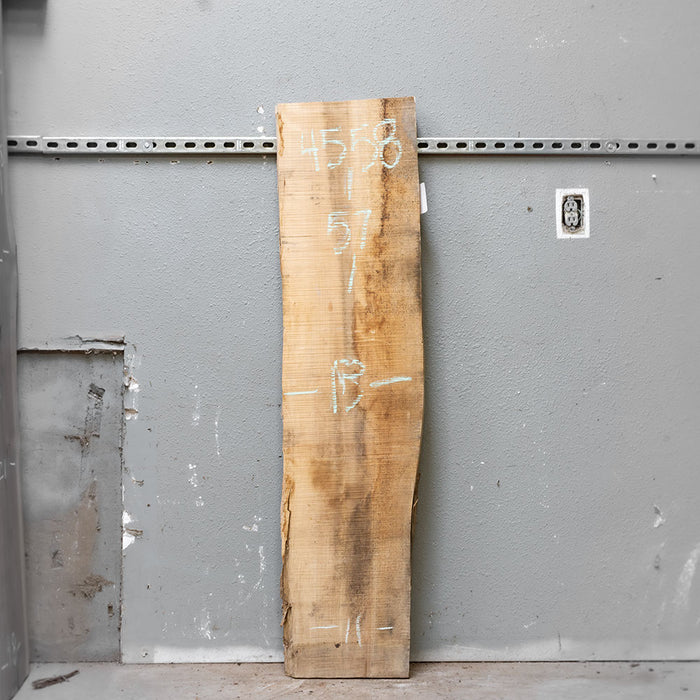"57"" x 12"" Maple Slab"
