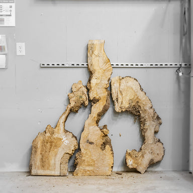 "54"" Maple Burl Slab Set 4"