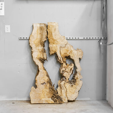 "54"" Maple Burl Slab Set 3"