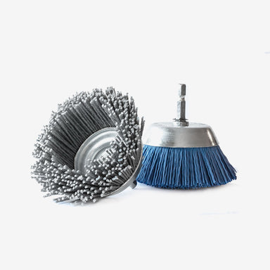 "2.5"" Nyalox Cup Brush For Drill"
