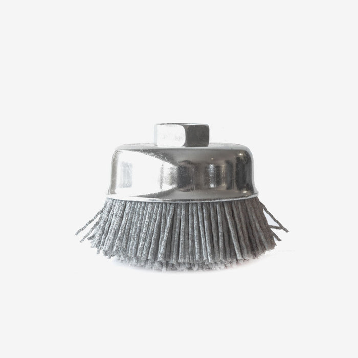 "3"" Nyalox Cup Brush For Angle Grinder"