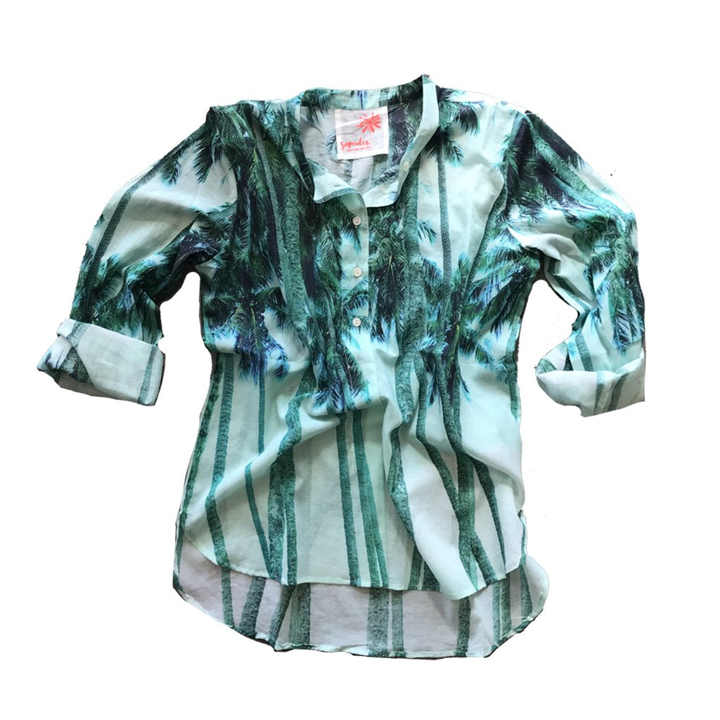 Tetiaroa Button-Up Shirt