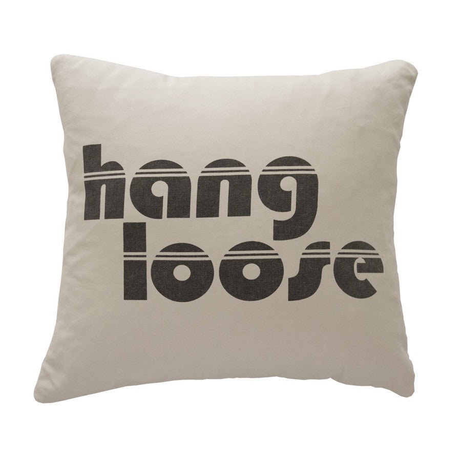 Hang Loose Canvas Pillow