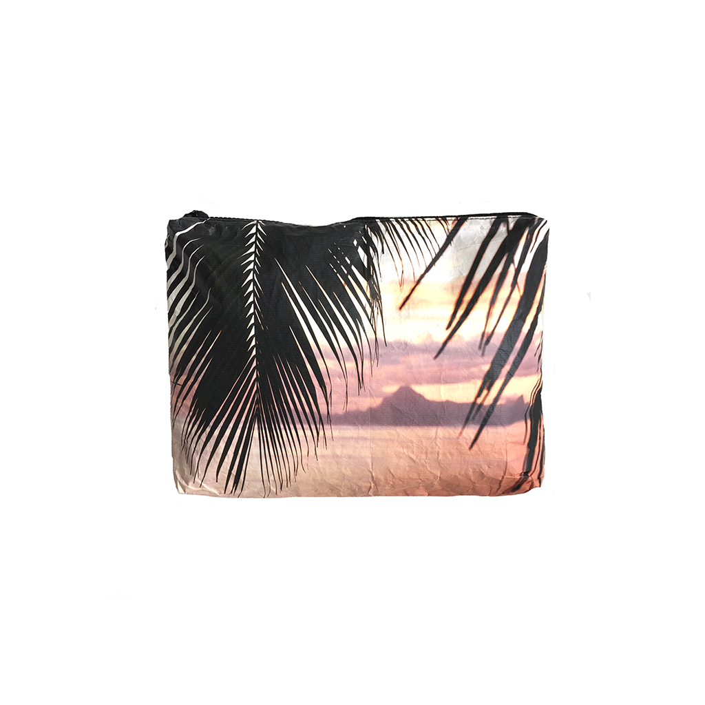 Small Moorea Sunset Wet-Dry Pouch
