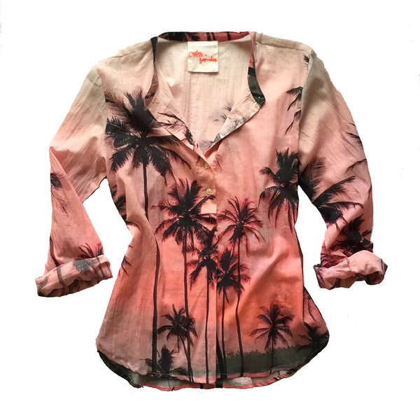Tangalle Beach Button-Up Shirt